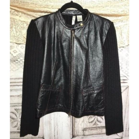 Twiggy Jackets & Blazers - Twiggy Women's Sweater Jacket Leather